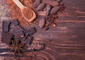 Vanille, Kakao und Zimt